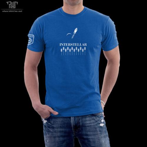 Interstellar endurance original design men unisex t-shirt 100/% ringspun cotton