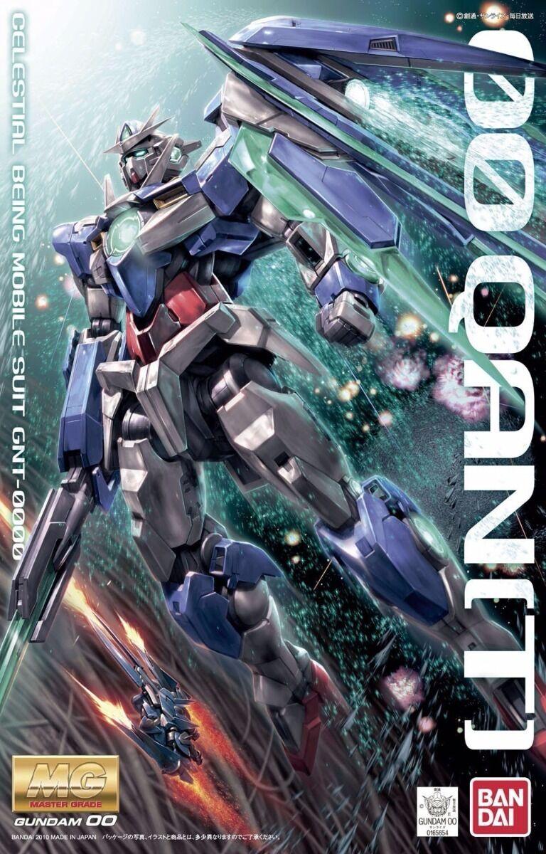 Bandai MG 1 100 Gnt-0000 Oo Qan[T] Modello Plastica Kit Gundam 00 Film Da