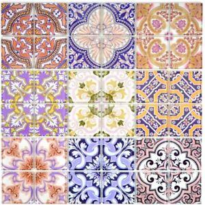 Retro-Vintage-Mosaik-Fliese-Transluzent-bunt-Glas-SPAIN-68-Retro-SP-b-1-Matte