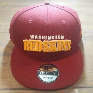 Washington-Redskins-New-Era-9Fifty-Snapback-Adjustable-Hat