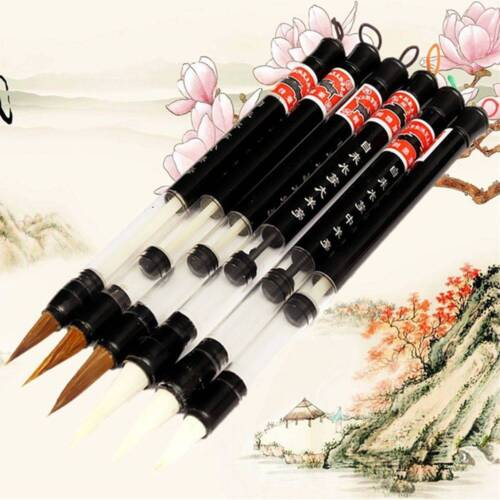Chinese Calligraphy Reusable Adjusted Pen Practice Paper Goat Hair Water Brush
