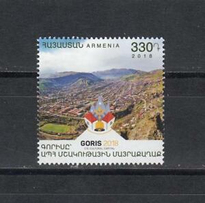 Cis Cultural City Rich In Poetic And Pictorial Splendor Stamps Armenia Mnh** 2018 Mi.1069 Goris