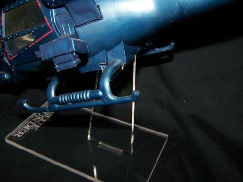 Acrylique Présentoir Pour vintage MTC Blue Thunder Helicopter Columbia Pictures