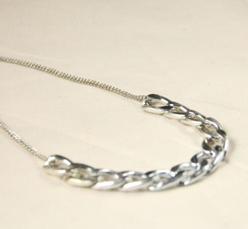 SHINY LINK ID Celebrity Style ALUMINIU CHOKER CHUNKY Curb Fashion Chain Necklace