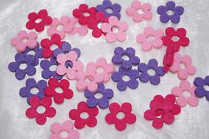 Blume Blute Filz Streuartikel Tischdekoration Tischdeko Pink Rosa
