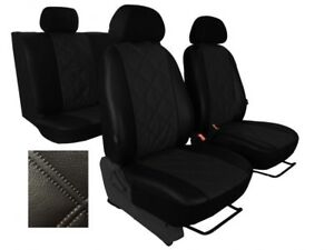 Universal Red//Black Eco-Leather Full Set Car Seat Covers fit NISSAN X-TRAIL