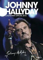 Johnny Hallyday Calendrier Officiel 2016