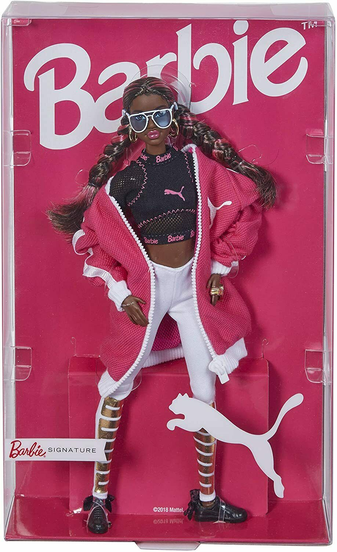 Puma 50th Anniversary African American Barbie Doll 2018 Mattel for ...