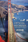 Official Register 2008 by American Society of Civil Engineers (Paperback, 2008)