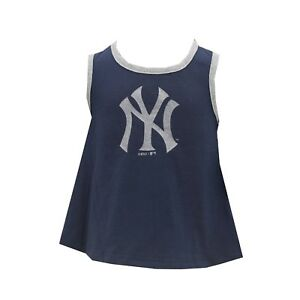 New-York-Yankees-MLB-Genuine-Baby-Infant-Size-Tank-Top-Shirt-amp-Bottoms-Combo-New