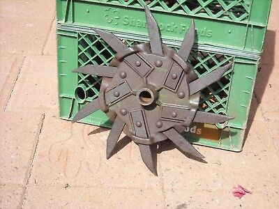 Vintage IH Rotary Hoe Cultivator Wheel Garden Farm Rustic Decor//Art Industrial