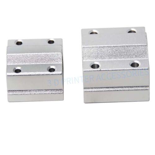 SC6UU//SC8UU//SC10UU//SC12UU Linear Ball Bearing Slide Unit Pillow CNC//3D Printer