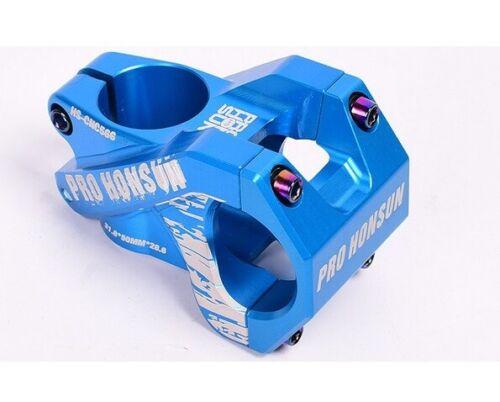 PRO HONSUN Aluminum Road Bike stems MTB XC Bicycle Bar 31.8*50mm Short Stem Blue