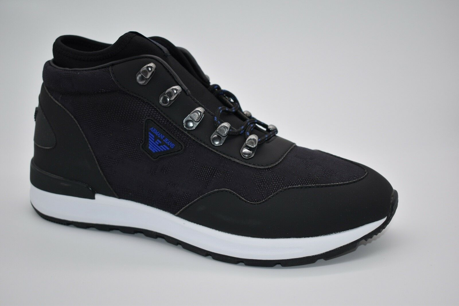 Arhommei Jeans 935125 7A408 Randonnée paniers en Noir Taille UK 9