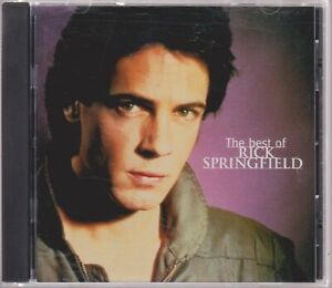 Best of RICK SPRINGFIELD Remastered 1999 Greatest Hits CD