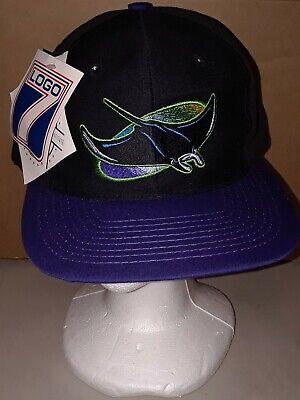 vintage tampa bay devil rays mlb baseball snapback hat logo 7 new w tags ebay ebay