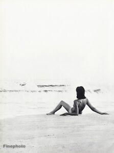 Details about 1966 Vintage 16x20 Beach NUDE FEMALE Woman Breast Ocean Photo  Art WINGATE PAINE