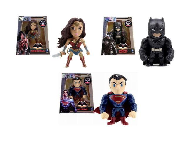 """Jada Diecast Metals 4"""" Collectors Figure - DC Comics Batman vs Superman NEW"""