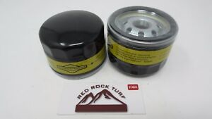 2 pack of Genuine Briggs /& Stratton 492932S Lawnmower Oil Filter