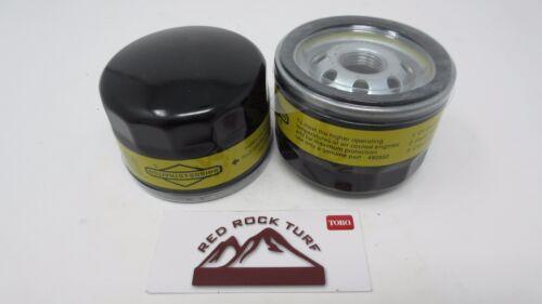 2 Genuine Briggs /& Stratton 492932S Lawnmower Oil Filter 7045184 492056