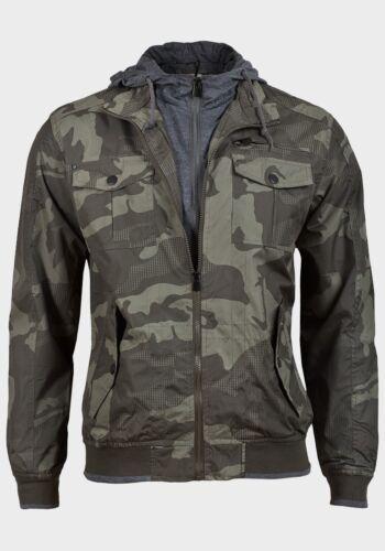 Camo Soul Military Brave Mens di Ripstop Sports Jacket 55 Camouflage xIaqaSn1w0