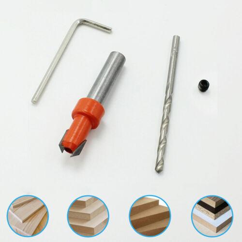 3.5×8mm HSS FRAISEUSE PERCEUSE réglable en profondeur Stop Colliers Step Cone Drill