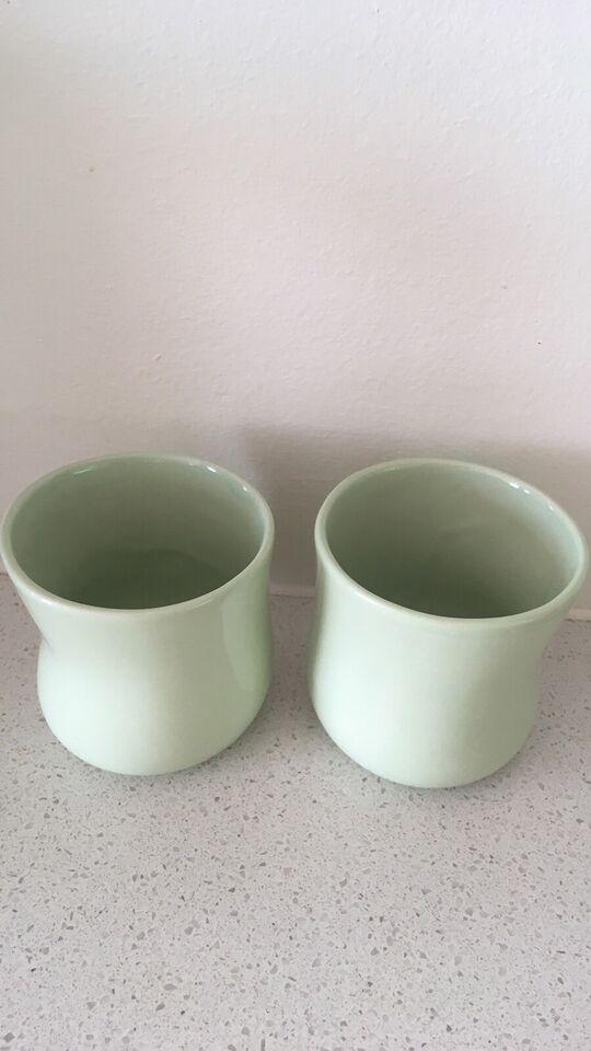Vaser, lysestager, Kähler og Helbak
