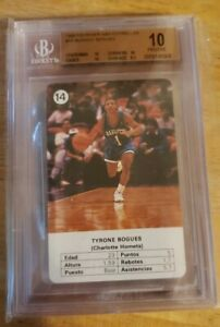 1988-Fournier-NBA-Estrellas-Tyrone-Mugsey-Bouges-14-BGS-10-PRISTINE
