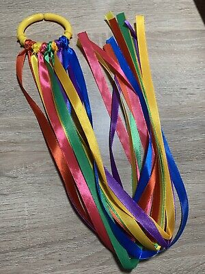 SEN Link Ring ribbon Baby Toy 1 Baby Sensory Ribbon Link Ring
