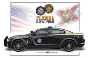 Dodge Charger Florida Highway Patrol Patrol Car Profile