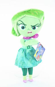 INSIDE-OUT-plush-DISGUST-12-034-soft-cuddly-toy-Disney-Pixar-NEW