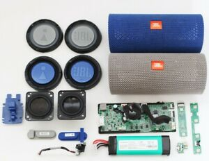 Details about JBL Flip 4 Replacement Parts  Board/Ports/Battery/Speaker/Grill/Cover/Radiator