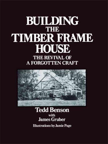 Construcción de la Timber Marco Casa De Revival de una Olvidado Manualidades