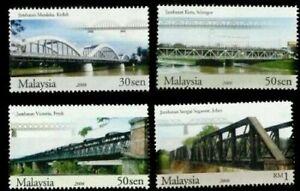 SJ-Bridges-Of-Malaysia-2008-Building-Architecture-Landmark-stamp-MNH