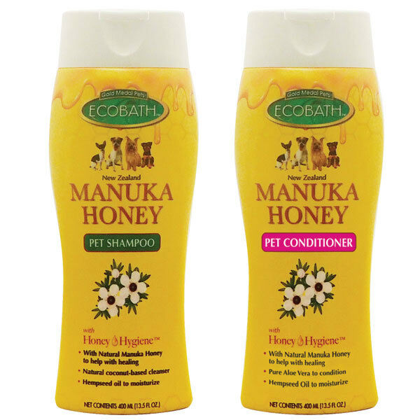 Miele di Manuka Naturale Animale Domestico Cane Shampoo e Organico Emolliente