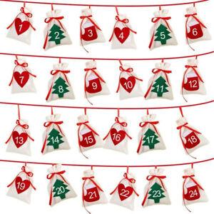 DIY-Christmas-Countdown-Home-Decoration-Calendar-Hanging-Fabric-Gift-Bags