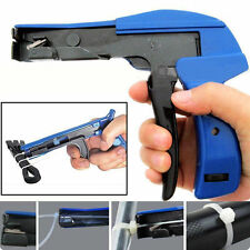 Heavy Duty Cable Zip Ties Automatic Cut Off Gun Tool Set Tension Fastening Tools