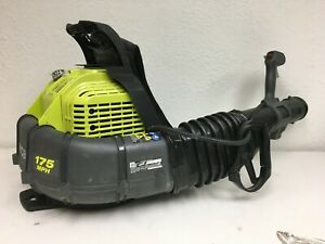 Ryobi Backpack Leaf Blower 175 Mph 760 Cfm 38cc 2 Cycle Gas Adjust Speed A223 46396019455 Ebay
