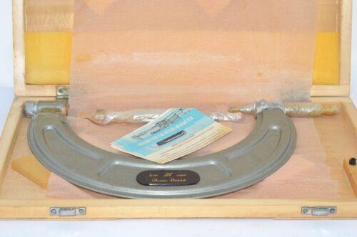 NEW Chuan Brand 8-9/'/' Outside Micrometer 0.0001/'/' Wood Box