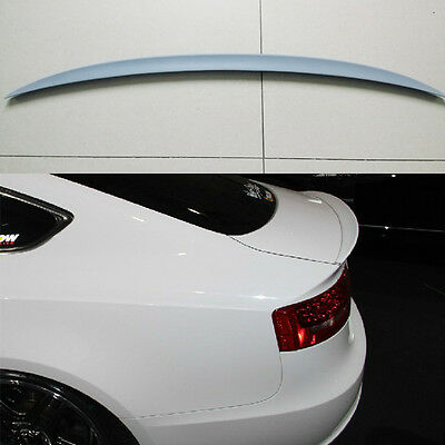 Heckspoiler für Audi A5 S5 B8 8T Spoiler Heckspoilerlippe Sportback S-Line