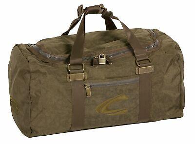 camel active Voyager Journey Travel Bag L Sporttasche Tasche Khaki Grün Neu
