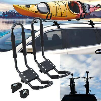 2X Auto Kajak Dachhalterung Auto Top Kajak Halterung Kanu Skifahren Dachträger