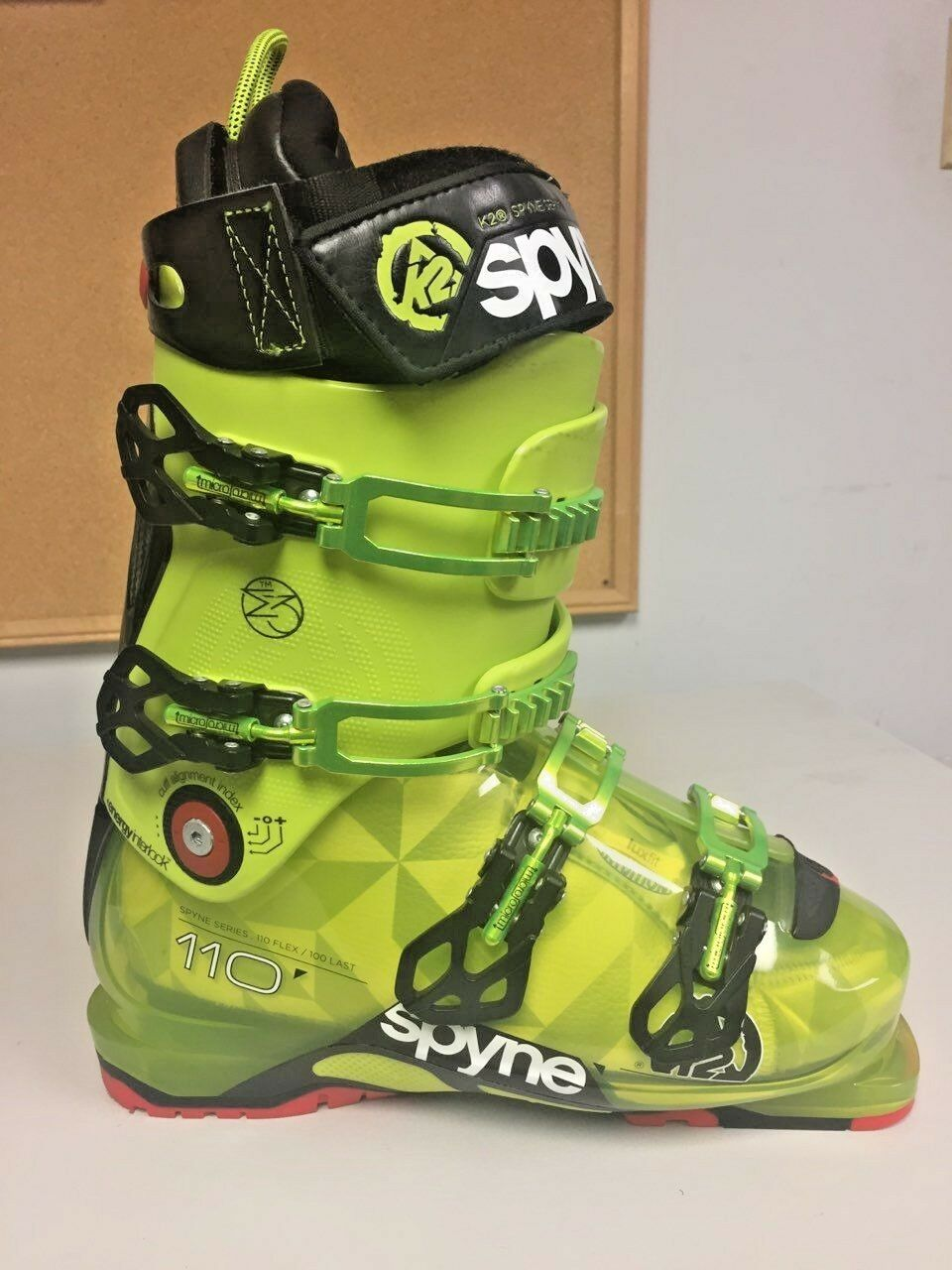 NEW K2 Spyne  110 Flex Ski Boots Size 29.5  low-key luxury connotation