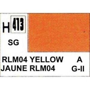 H413-Jaune-satine-RLM04-Gunze-10ml