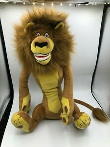 Madagascar-Alex-The-Lion-Plush-Kids-Soft-Stuffed-Toy-Animal-Dreamworks-DWA-2005