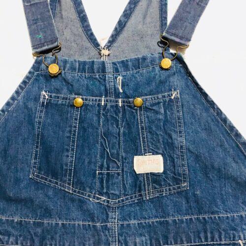 vintage 40s 50s Smiths Workwear Denim Sanforized O