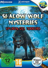 SHADOW WOLF MYSTERIES * SPUREN DES TERRORS * WIMMELBILD-SPIEL  PC DVD-ROM