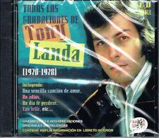 Tony Landa Todas  Las Grabaciones  1970-1978  BRAND NEW   2 CDS SET