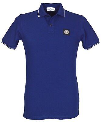 Stone Island kids Polo Shirt Cotton Short Sleeved Polo Logo To Chest 681621348