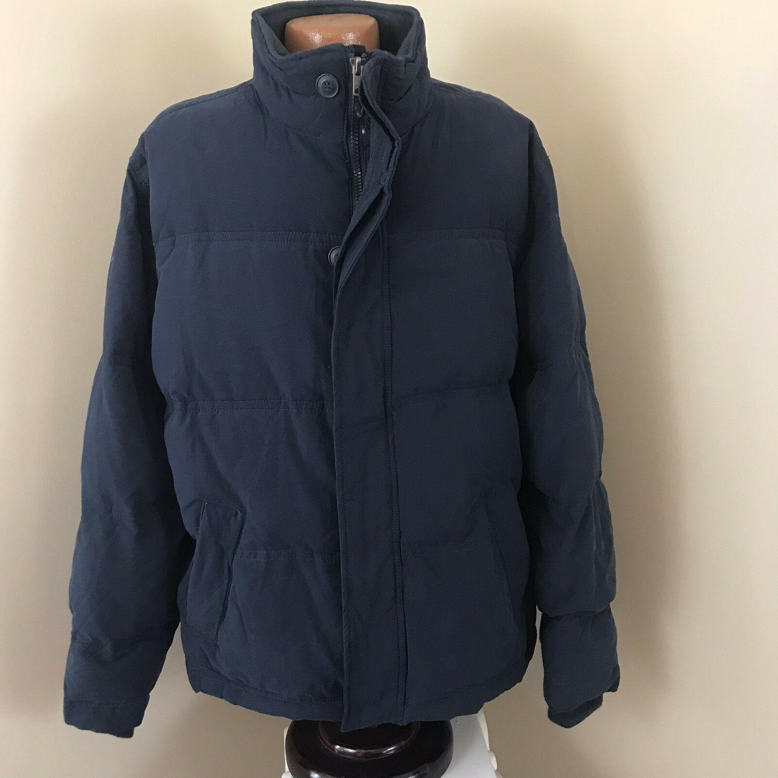 Men's Aeropostale Down Coat Size XXL Navy